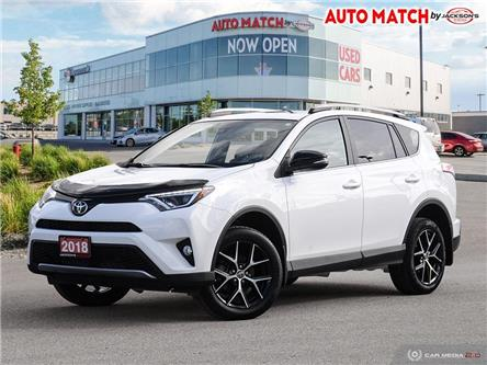 2018 Toyota RAV4 SE (Stk: U8252) in Barrie - Image 1 of 27