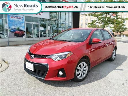 2016 Toyota Corolla S (Stk: 344931) in Newmarket - Image 1 of 8