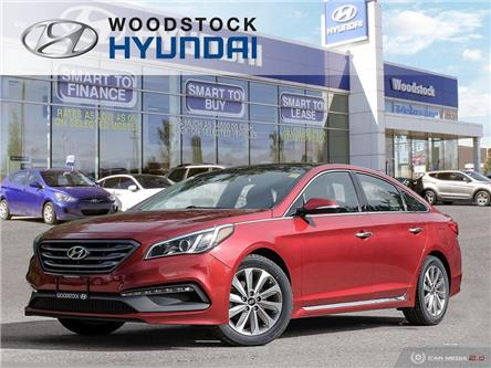 2015 Hyundai Sonata Sport Tech (Stk: SE19034A) in Woodstock - Image 1 of 27