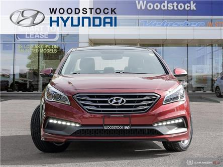 2015 Hyundai Sonata Sport Tech (Stk: SE19034A) in Woodstock - Image 2 of 27