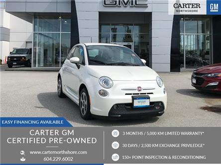 2016 Fiat 500e ELECTRIC /No Accidents/GM Certified/Heated seats (Stk: 972740) in North Vancouver - Image 1 of 25