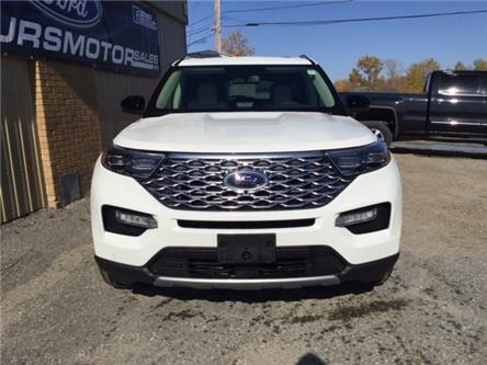 2020 Ford Explorer Platinum (Stk: 20-42) in Kapuskasing - Image 2 of 8