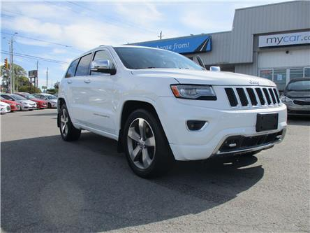 2014 Jeep Grand Cherokee Overland (Stk: 191509) in Kingston - Image 1 of 15