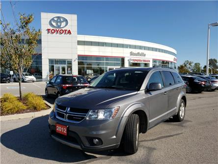 2012 Dodge Journey SXT & Crew (Stk: 190996A) in Whitchurch-Stouffville - Image 1 of 14