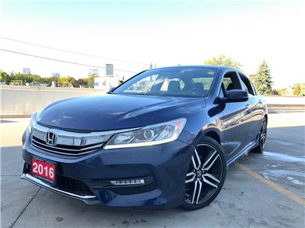 2016 Honda Accord Sport (Stk: C191542A) in Toronto - Image 1 of 28