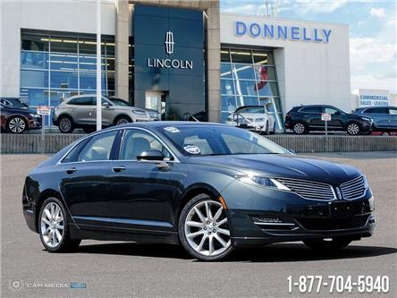 2016 Lincoln MKZ Hybrid Base (Stk: PLDR864A) in Ottawa - Image 1 of 27