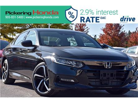 2018 Honda Accord Sport (Stk: P5207) in Pickering - Image 1 of 33