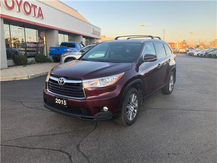 2015 Toyota Highlander  (Stk: P0055820) in Cambridge - Image 2 of 14