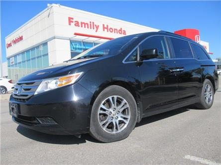 2011 Honda Odyssey EX-L Rear Entertainment System | Great Value!! (Stk: 509975T) in Brampton - Image 1 of 30