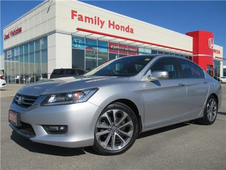 2015 Honda Accord Sport | SUNROOF | REVERSE CAM | (Stk: 808543T) in Brampton - Image 1 of 25