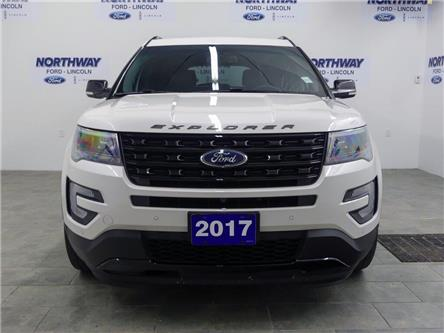 2017 Ford Explorer Sport   AWD   LEATHER   PANOROOF   3 ROW   (Stk: F192621A) in Brantford - Image 2 of 47