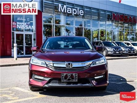 2017 Honda Accord Sedan V6 Touring--Leather,Navi,Roof,1 Owner Trade in! (Stk: LM417) in Maple - Image 2 of 26