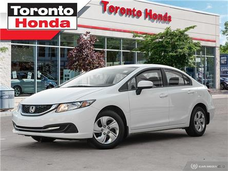 2015 Honda Civic LX/Heated Front Seats/Rear view Camera/BlueTooth (Stk: 39468) in Toronto - Image 1 of 26