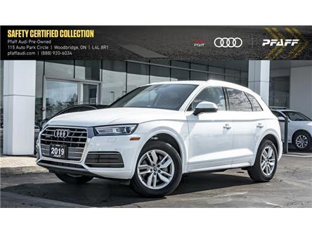 2019 Audi Q5 45 Komfort (Stk: C7123) in Vaughan - Image 1 of 22