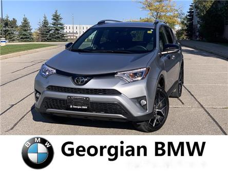 2017 Toyota RAV4 SE (Stk: B19284T-1) in Barrie - Image 1 of 11