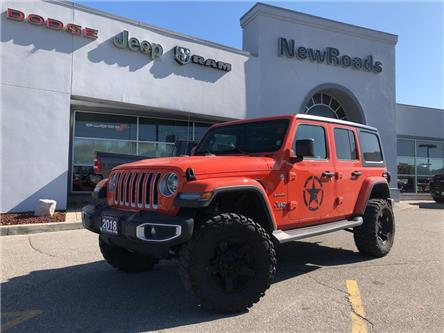 2018 Jeep Wrangler Unlimited Sahara (Stk: 24418P) in Newmarket - Image 1 of 21
