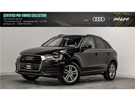 2016 Audi Q3 2.0T Komfort (Stk: C7167) in Woodbridge - Image 1 of 22