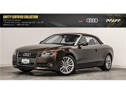 2011 Audi A5 2.0T Premium Plus (Stk: T17440A) in Woodbridge - Image 1 of 22