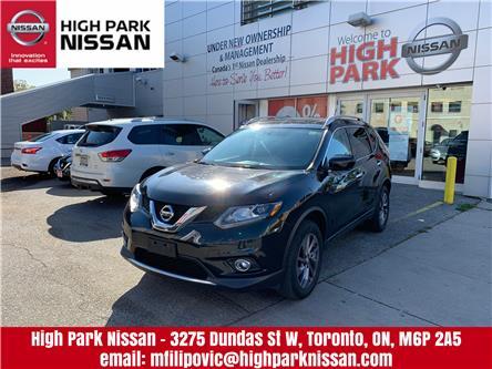 2016 Nissan Rogue SL Premium (Stk: U1656) in Toronto - Image 1 of 22