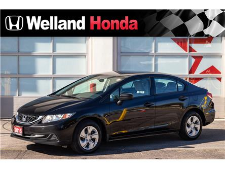 2015 Honda Civic LX (Stk: U19338) in Welland - Image 1 of 19