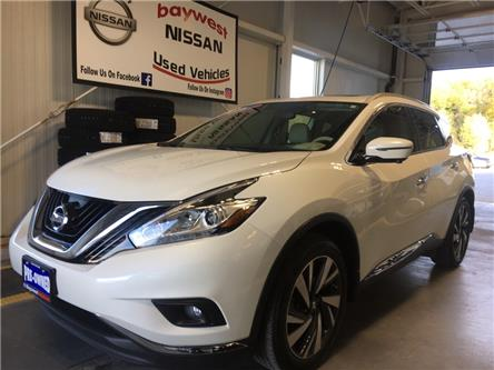 2017 Nissan Murano Platinum (Stk: P0724) in Owen Sound - Image 1 of 13