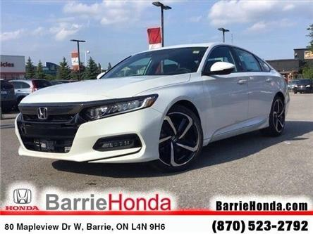 2019 Honda Accord Sport 1.5T (Stk: 19322) in Barrie - Image 1 of 24