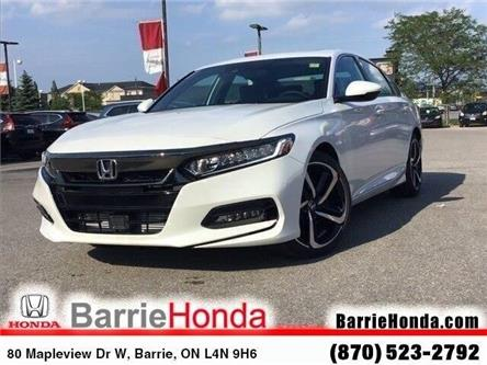 2019 Honda Accord Sport 1.5T (Stk: 191485) in Barrie - Image 1 of 24