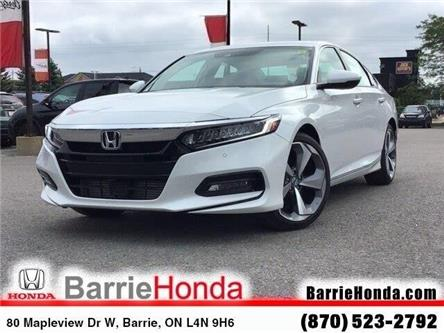 2019 Honda Accord Touring 1.5T (Stk: 19243) in Barrie - Image 1 of 21