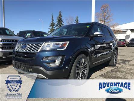 2017 Ford Explorer Platinum (Stk: T23068) in Calgary - Image 1 of 19