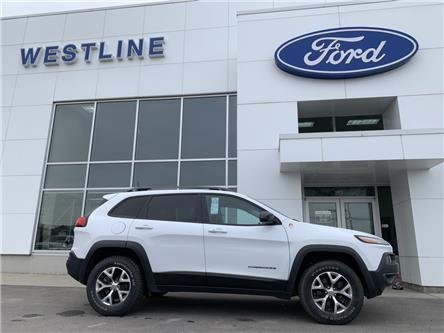 2017 Jeep Cherokee Trailhawk (Stk: 4208A) in Vanderhoof - Image 2 of 22