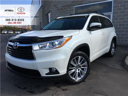 2016 Toyota Highlander XLE AWD 8 PASS, LEATHER, SUNROOF, ALLOYS, FOG, NAV (Stk: 45110A) in Brampton - Image 1 of 28