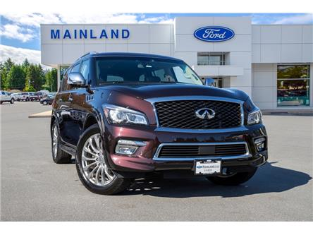 2016 Infiniti QX80 Base 7 Passenger (Stk: P0685A) in Vancouver - Image 1 of 28