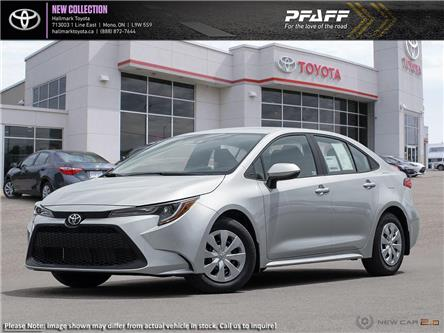 2020 Toyota Corolla 4-door Sedan L CVT (Stk: H20153) in Orangeville - Image 1 of 24