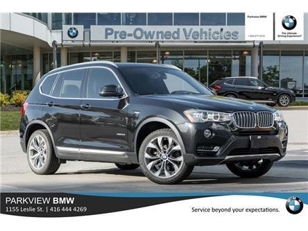 2017 BMW X3 xDrive28i (Stk: 302501A) in Toronto - Image 1 of 21