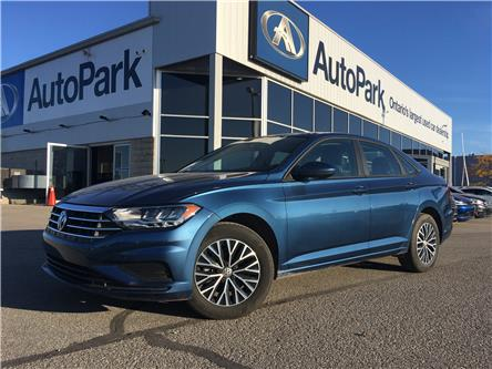 2019 Volkswagen Jetta 1.4 TSI Highline (Stk: 19-60620RJB) in Barrie - Image 1 of 25