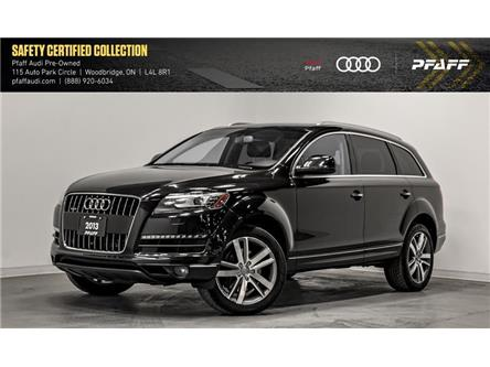 2013 Audi Q7 3.0T Premium (Stk: T16931A) in Woodbridge - Image 1 of 22
