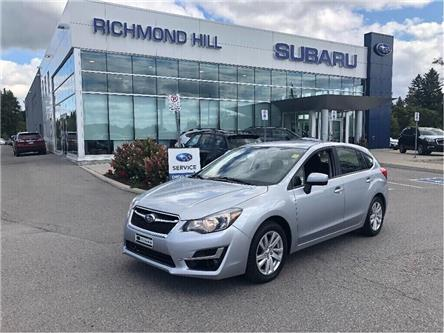 2015 Subaru Impreza  (Stk: P03858) in RICHMOND HILL - Image 1 of 16