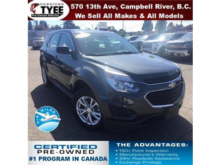 2017 Chevrolet Equinox LS (Stk: T19320A) in Campbell River - Image 1 of 30