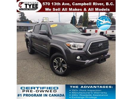 2018 Toyota Tacoma TRD Sport (Stk: T19172B) in Campbell River - Image 1 of 30
