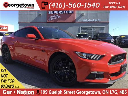 2017 Ford Mustang GT | BACK UP CAM | 5.0L V8 | AUTO | 23,740KM (Stk: NIS) in Georgetown - Image 1 of 26