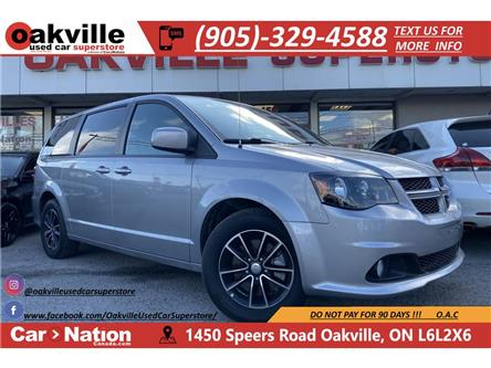 2018 Dodge Grand Caravan GT   PWR DOORS   HTD SEATS   CAPN CHAIRS   LEATHER (Stk: DR591) in Oakville - Image 1 of 21