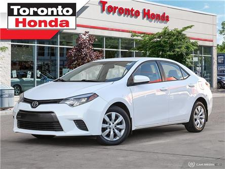2015 Toyota Corolla LE/BRAND NEW PADS/2NEW TIRES/ (Stk: 39317) in Toronto - Image 1 of 27