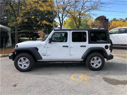 2020 Jeep Wrangler Unlimited Sport (Stk: 204012) in Toronto - Image 2 of 16