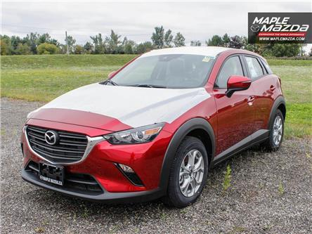 2019 Mazda CX-3 GS (Stk: 19-350) in Vaughan - Image 1 of 5
