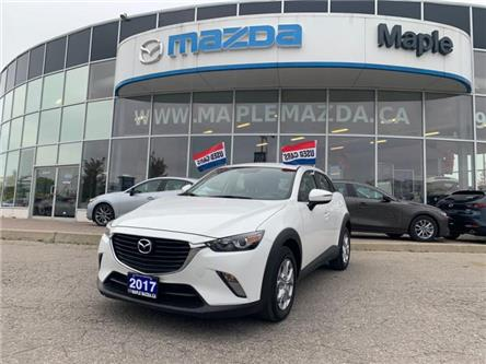 2017 Mazda CX-3 GS (Stk: P-1221L) in Vaughan - Image 1 of 19