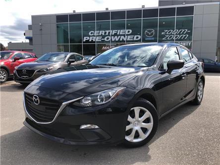 2016 Mazda Mazda3 GX at REAR CAM,BLUETOOTH,CRUISE CONTROL (Stk: P1966) in Toronto - Image 1 of 23
