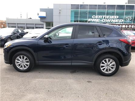 2016 Mazda CX-5 GS FWD at L,REAR CAM,LEATHER,SUNROOF,ALLOYS,NO ACC (Stk: P1963) in Toronto - Image 2 of 24