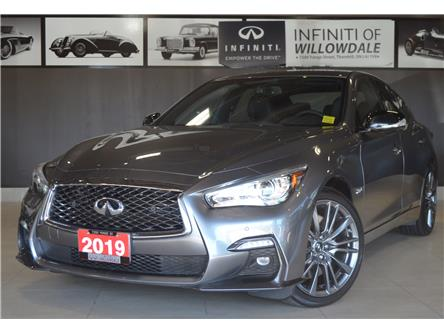 2019 Infiniti Q50 3.0t Red Sport 400 (Stk: U16584) in Thornhill - Image 1 of 32