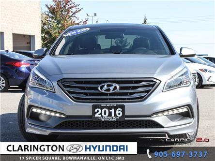 2016 Hyundai Sonata Sport Tech (Stk: 19352A) in Clarington - Image 2 of 27