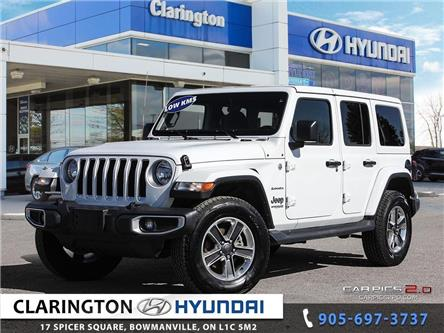 2018 Jeep Wrangler Unlimited Sahara (Stk: 19716A) in Clarington - Image 1 of 27